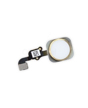Apple iPhone 6S Plus Home Button With Home Flex Cable Assembly, Ori - Gold