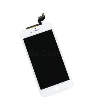 Apple iPhone 6S Digitizer and LCD Screen Assembly with Frame Replacement - White, Ori