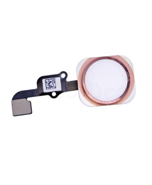 Apple iPhone 6S Home Button With Home Flex Cable Assembly, High Quality - Rose Gold