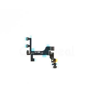 Apple iPhone 5C Power and Volume, Mute Switch Flex Cable Replacement, High Quality