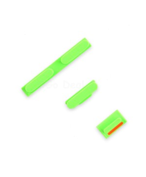 Apple iPhone 5C Side Button Key Set-Green