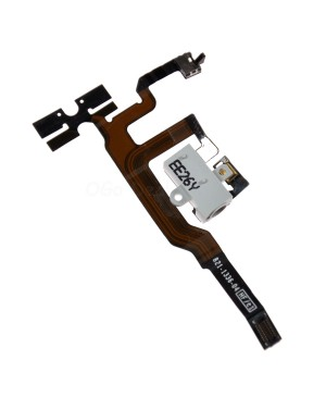 Apple iPhone 4S Headphone Jack and Volume Flex Cable - White, Ori new