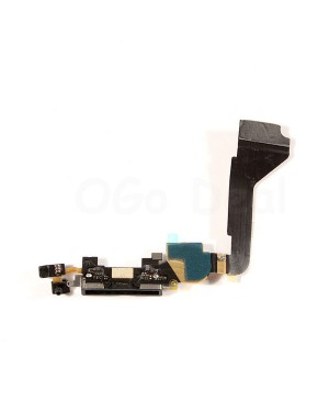 Apple iPhone 4 Charging Dock Connector Flex Replacement, Ori New, Black