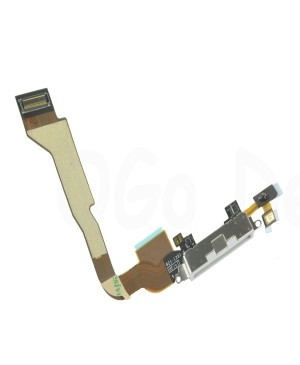 Apple iPhone 4 CDMA Charging Dock Connector Flex Cable Replacement, Ori New, White