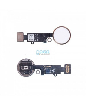 Back Home Button Flex Cable Replacement for iPhone 7 Gold
