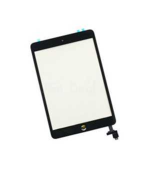 iPad Mini 1/2 Glass and Digitizer Assembly with IC chip, Ori - Black