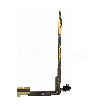 iPad 3/4 Audio Headphone Jack Flex Cable with Interconnection  Board (Cellular verison)- Ori