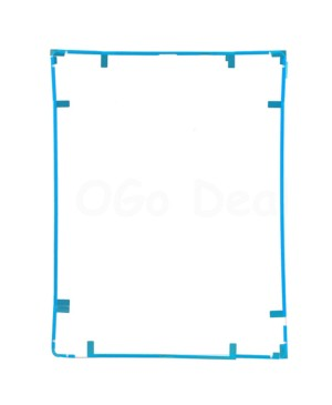 iPad 2/3/4 Front Frame Bezel With Sticker white