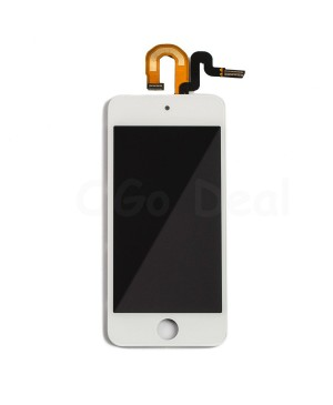 Wholesale iPod Touch 5th and 6th Gen LCD Screen and Digitizer  Assembly Replacement - White - Ogo Deal