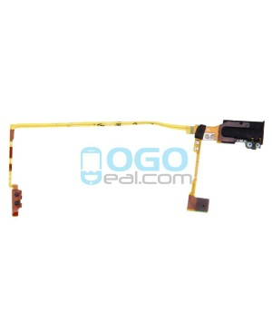 Headphone Jack Flex Cable Replacement for iPod Nano 5th Gen White