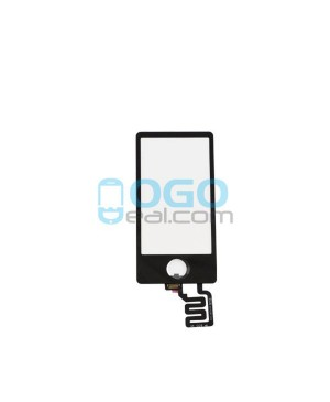 Digitizer Touch Glass Panel Replacement for iPod Nano 7th Gen Black