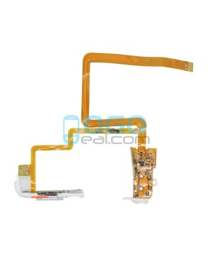 Headphone Jack Flex Cable Replacement for iPod Classic 6th Gen 160GB White