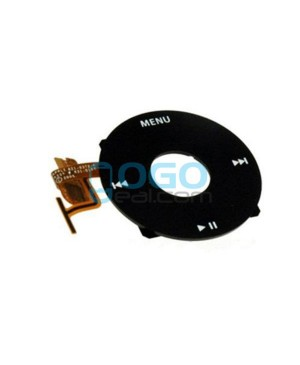 Click Wheel Flex Cable Replacement for iPod Video 5th Gen - Black