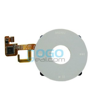 Click Wheel Flex Cable Replacement for iPod Video 5th Gen - White
