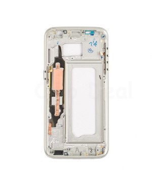 LCD front Support Frame for Samsung Galaxy S7 (G930V / G930P) - White