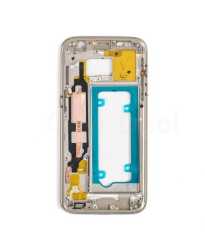 LCD front Support Frame for Samsung Galaxy S7 (G930V / G930P) - Gold