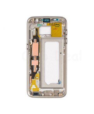 LCD front Support Frame for Samsung Galaxy S7 (G930F) - Gold