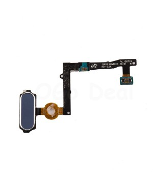 Home Button Flex Cable Replacement for Samsung Galaxy S6 Edge Plus - Sapphire