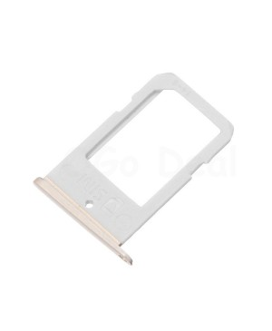 SIM Tray Replacement for Samsung Galaxy S6 Edge  - Gold