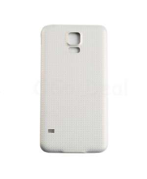 Battery Door/Back Cover Replacement with Water-proof Gasket for Samsung Galaxy S5 White