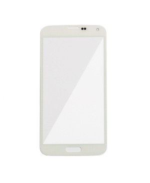 Front Glass Lens Replacement for Samsung Galaxy S5 White