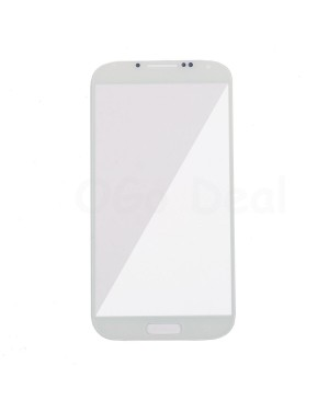 Front Glass Lens Replacement for Samsung Galaxy S4 White