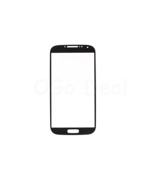 Front Glass Lens Replacement for Samsung Galaxy S4 Black