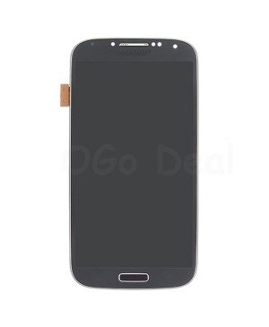 LCD Screen and Digitizer Assembly Replacement for Samsung Galaxy S 4 IV  i337 M919 - Black