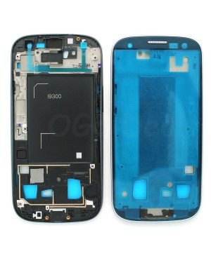 For Samsung Galaxy S3 III i9300 Faceplate Front Bezel Middle Plate Frame - White