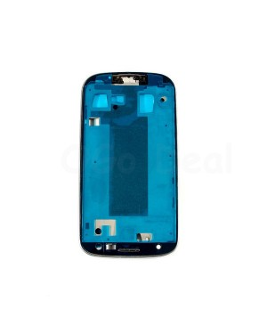 For Samsung Galaxy S3 III i9305 Faceplate Front Bezel Middle Plate Frame - White