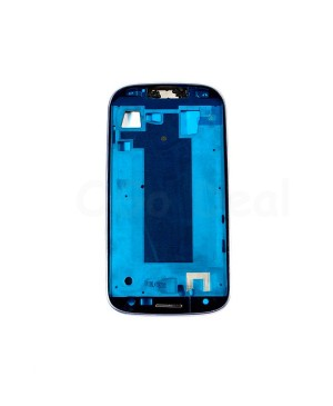 For Samsung Galaxy S3 III T999/I747 Faceplate Front Bezel Middle Plate Frame - White