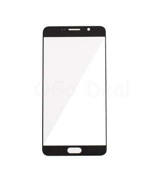 Front Glass Lens Replacement for Samsung Galaxy Note 5 Black Sapphire