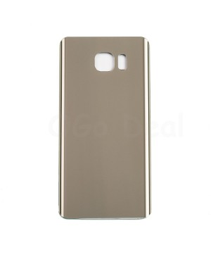 Battery Door/Back Cover Replacement with adhesive for Samsung Galaxy Note 5 Gold