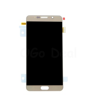 LCD Screen and Digitizer Assembly Replacement for Samsung Galaxy Note 5 - Gold