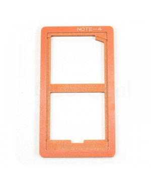 LCD and Outer Glass Lens Refurbishment UV LOCA Glueing Mould for Samsung Galaxy Note 4