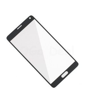 Front Glass Lens Replacement for Samsung Galaxy Note 4 Black