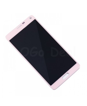 LCD Screen and Digitizer Assembly Replacement for Samsung Galaxy Note 4 - Pink