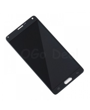 LCD Screen and Digitizer Assembly Replacement for Samsung Galaxy Note 4 - Black