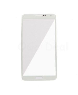 Oem Original  Front Glass Lens Replacement for Samsung Galaxy Note 3 White