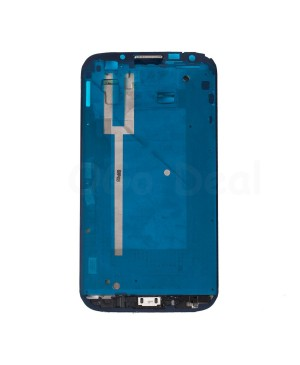 Front Housing Frame Bezel Plate Replacement for Samsung Galaxy Note 2 I605 / L900 / R950