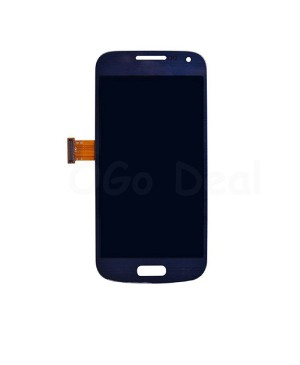 LCD Screen and Digitizer Assembly Replacement for Samsung Galaxy S4 Mini - Blue