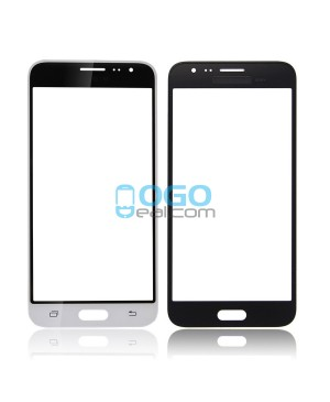 Front Glass Lens Replacement for Samsung Galaxy J3 (2016)  White