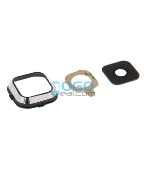 Replacement for Samsung Galaxy A7 / A7000 Rear Camera Lens Cover with Holder - Black