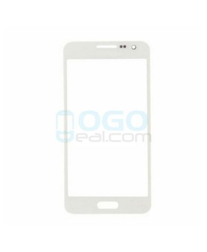Front Outer Screen Glass Lens Replacement for Samsung Galaxy A3 - White