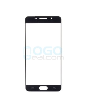Front Outer Screen Glass Lens Replacement for Samsung Galaxy A5 2016 A510 - Black