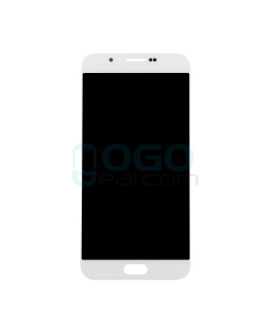 LCD & Digitizer Touch Screen Assembly Replacement for Samsung Galaxy A8 - White
