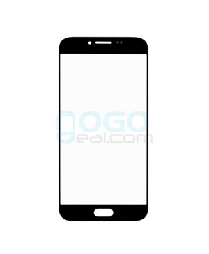 Front Outer Screen Glass Lens Replacement for Samsung Galaxy A8 - Black