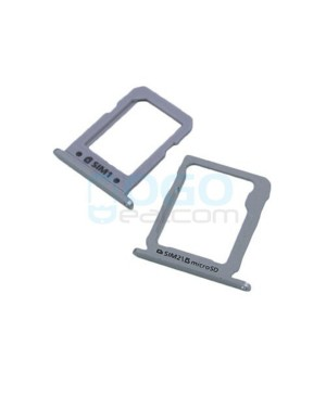 SIM & SD Card Tray Replacement for Samsung Galaxy A8 Silver