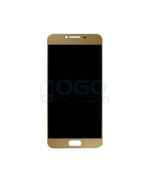 LCD & Digitizer Touch Screen Assembly Replacement for Samsung Galaxy C5 - Gold