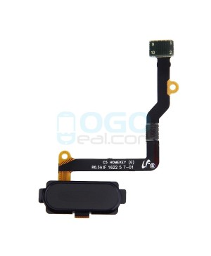 Back Home Button Flex Cable Replacement for Samsung Galaxy C5 Black